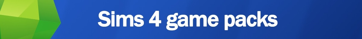 Download Sims 4 game packs