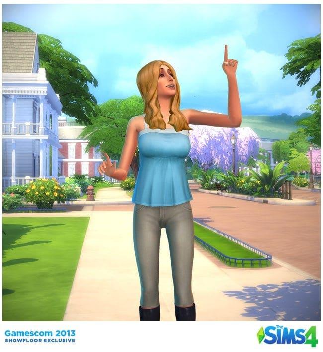 Sims 4 CAS