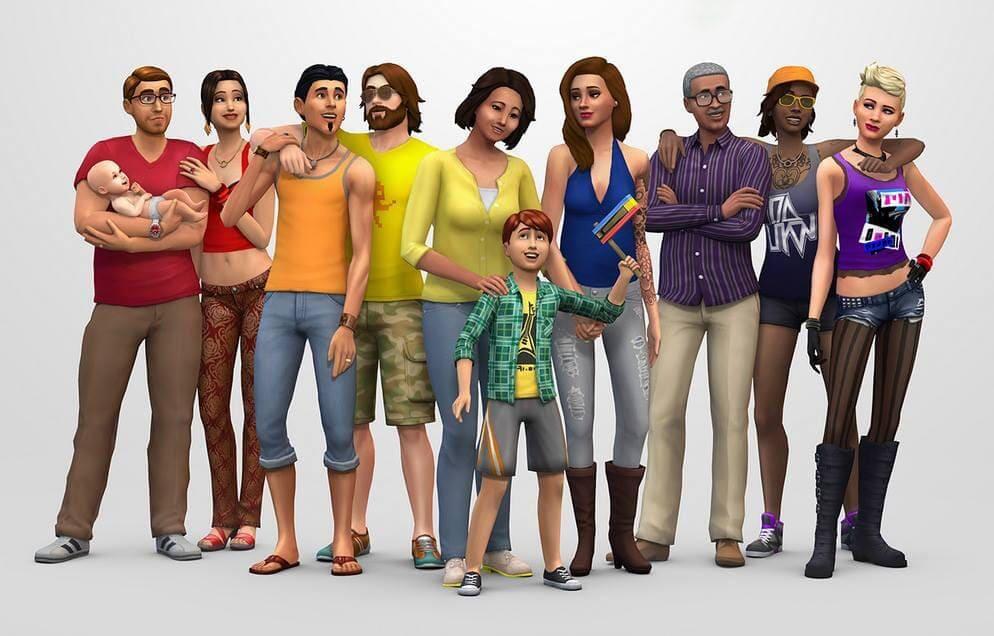 Baby in De Sims 4