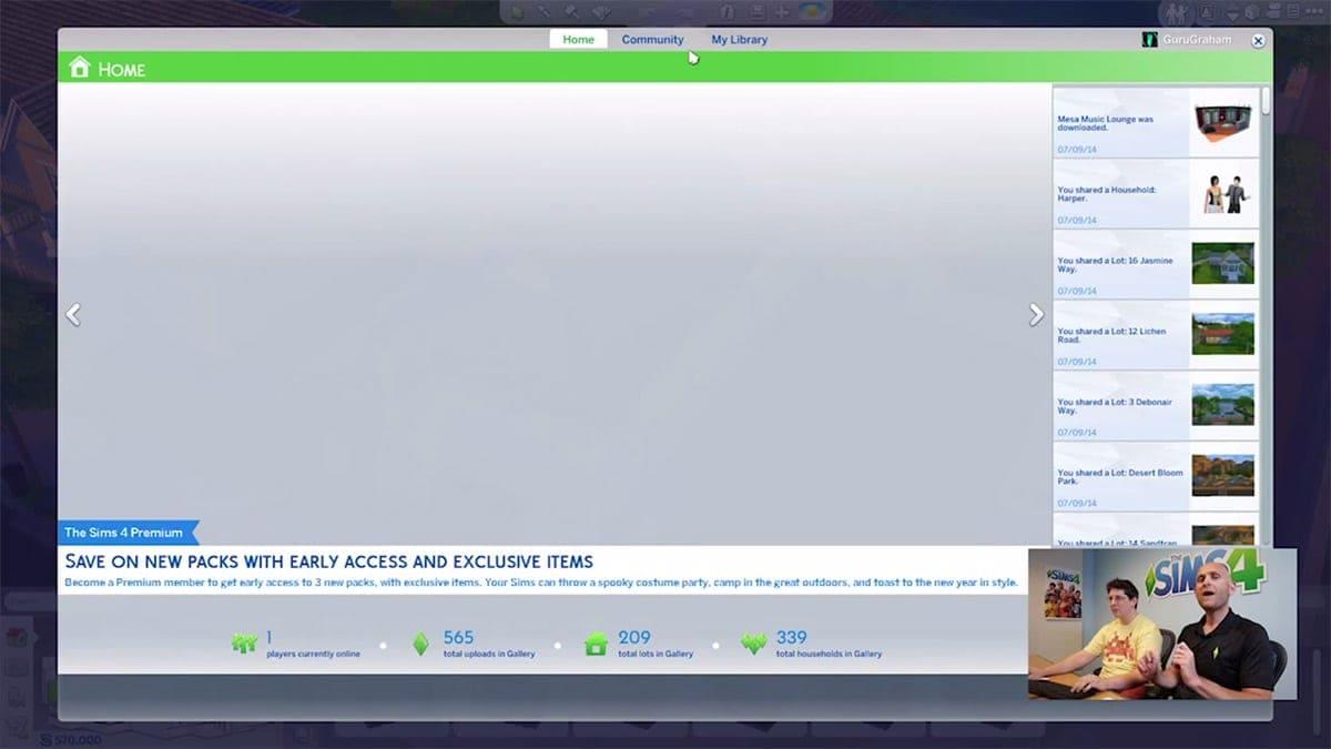 Premium lidmaatschap Sims 4 voor extra items