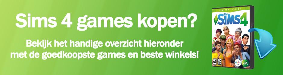 Koop je favoriete Sims 4 games nu, check het prijsoverzicht met de goedkoopste games