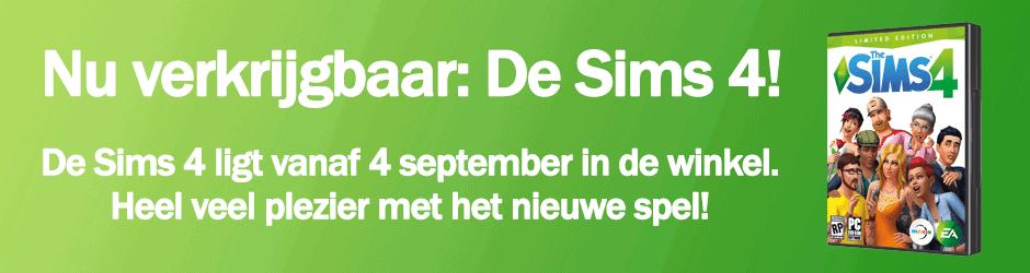 Nu verkrijgbaar: De Sims 4