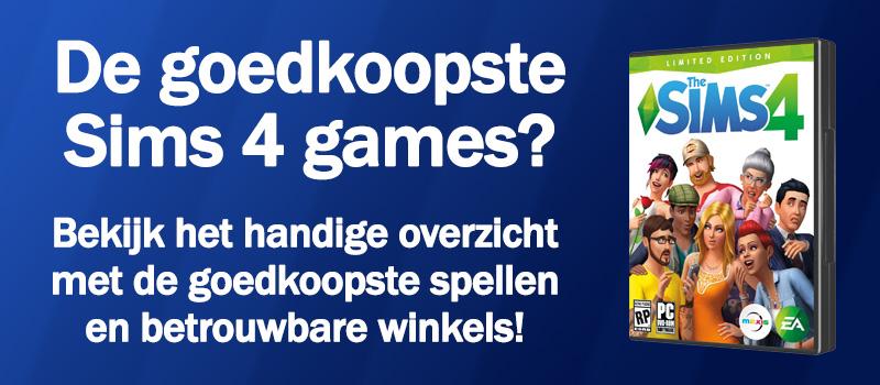 De goedkoopste Sims 4 games op een rijtje, download direct