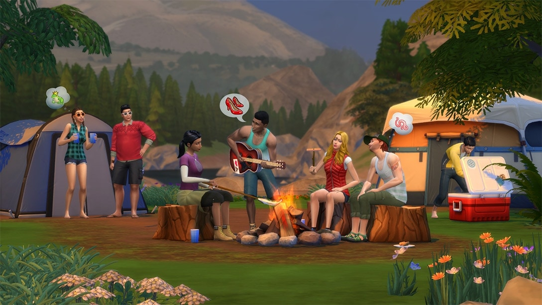 Sims 4 Outdoor Retreat