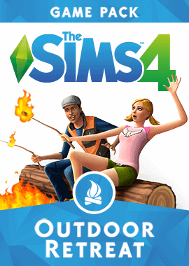 Sims 4 Outdoor Retreat box