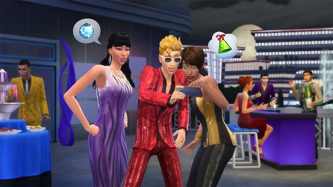Accessoirepakket De Sims 4 Luxe Feestaccessoires
