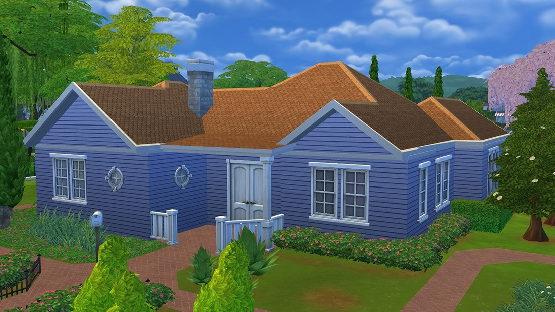 Sims 4 huis - Agatha's Road 1