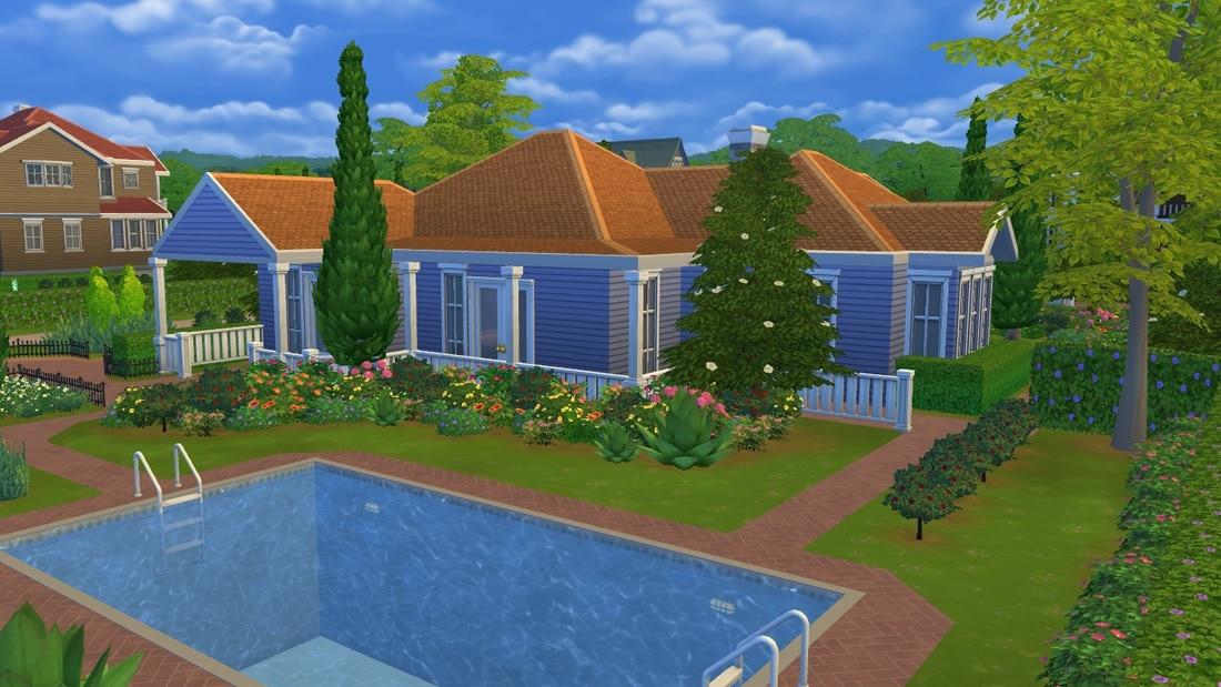 Sims 4 download: Huis Agathau0026#39;s Road : Sims 4