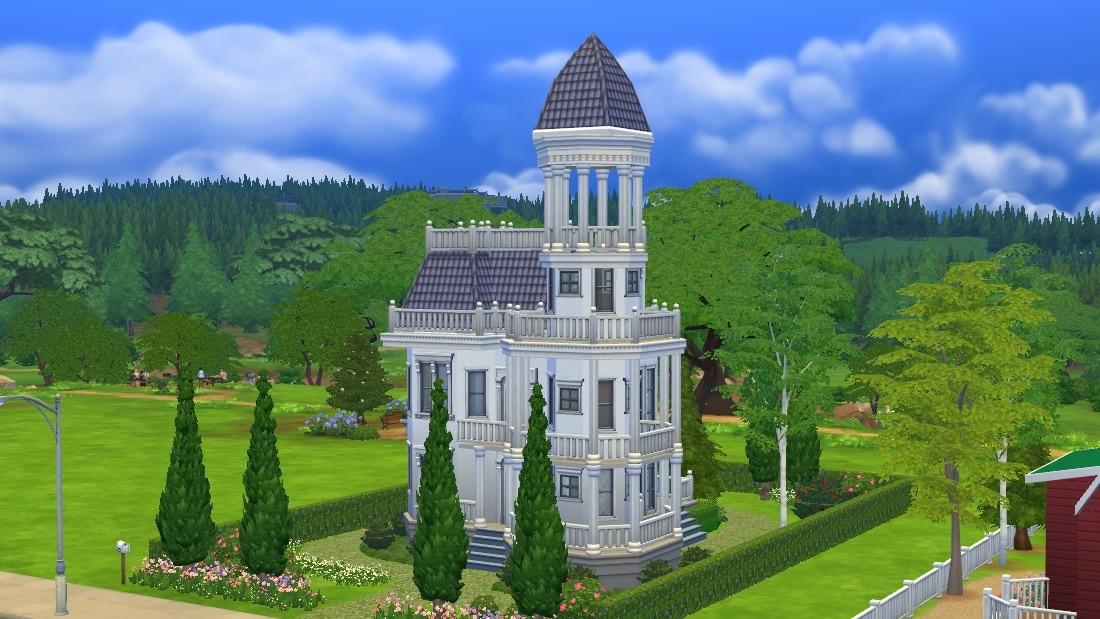 Sims 4 huis - Blue Moraine 1