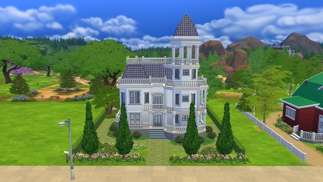 Sims 4 huis - Blue Moraine 2