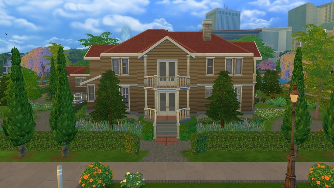 Sims 4 huis - Bromelia Road 1