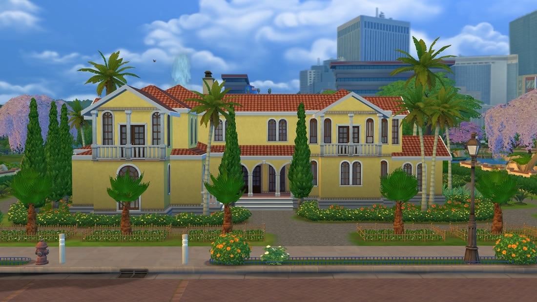 Sims 4 huis - Casa Grandiosa 1