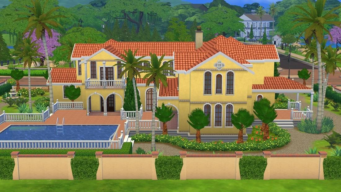 Sims 4 huis - Casa Grandiosa 4