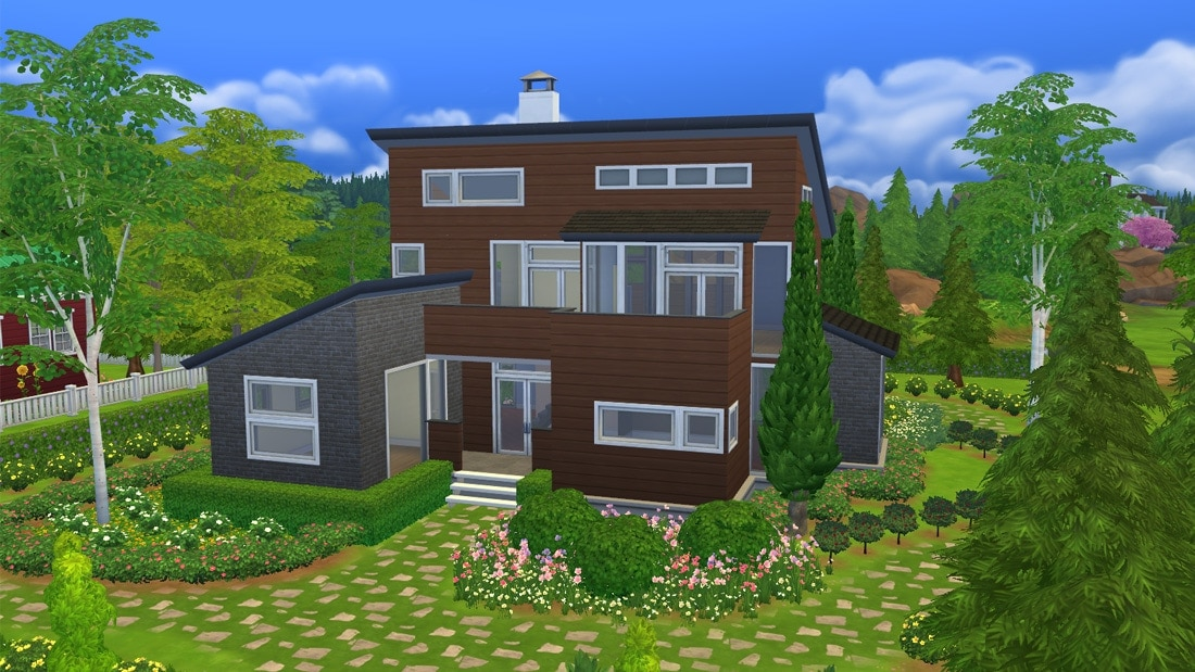 Sims 4 huis - Celista Creek 1