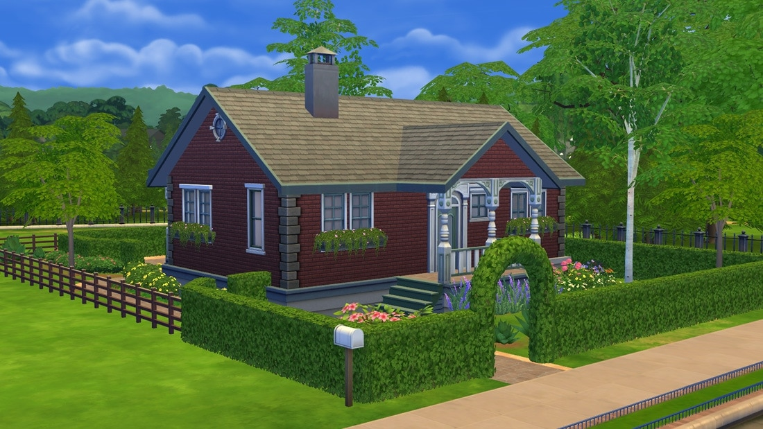 Sims 4 huis - Jacksons Ave 1