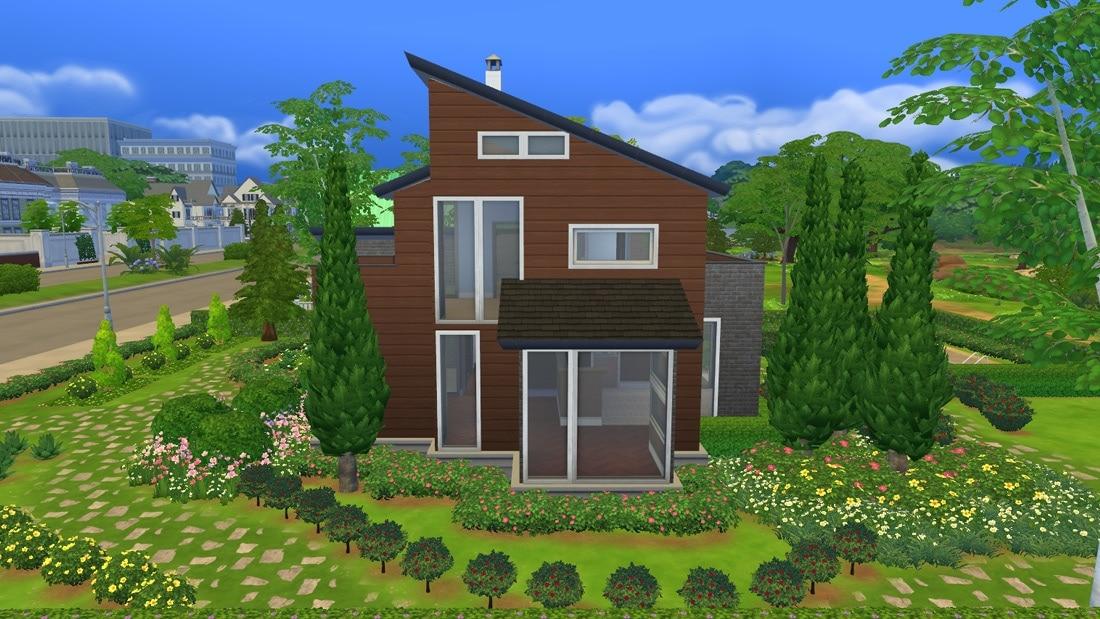 Sims 4 download huis celista creek sims 4 for Kleine huizen bouwen