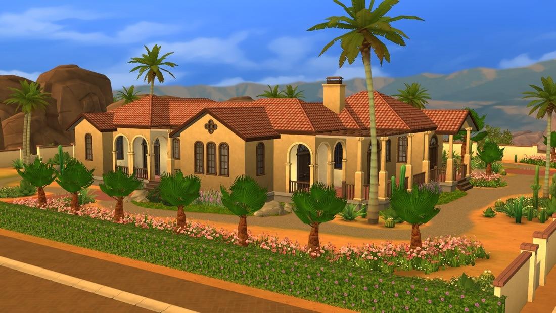 Sims 4 huis - Montalvo Ave 1