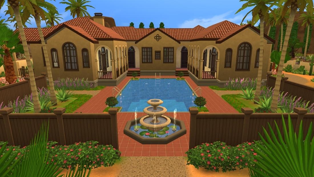 Sims 4 huis - Montalvo Ave 5