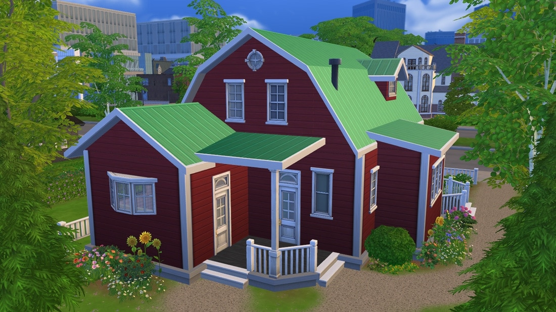 Sims 4 huis - Stuga Leksand 2
