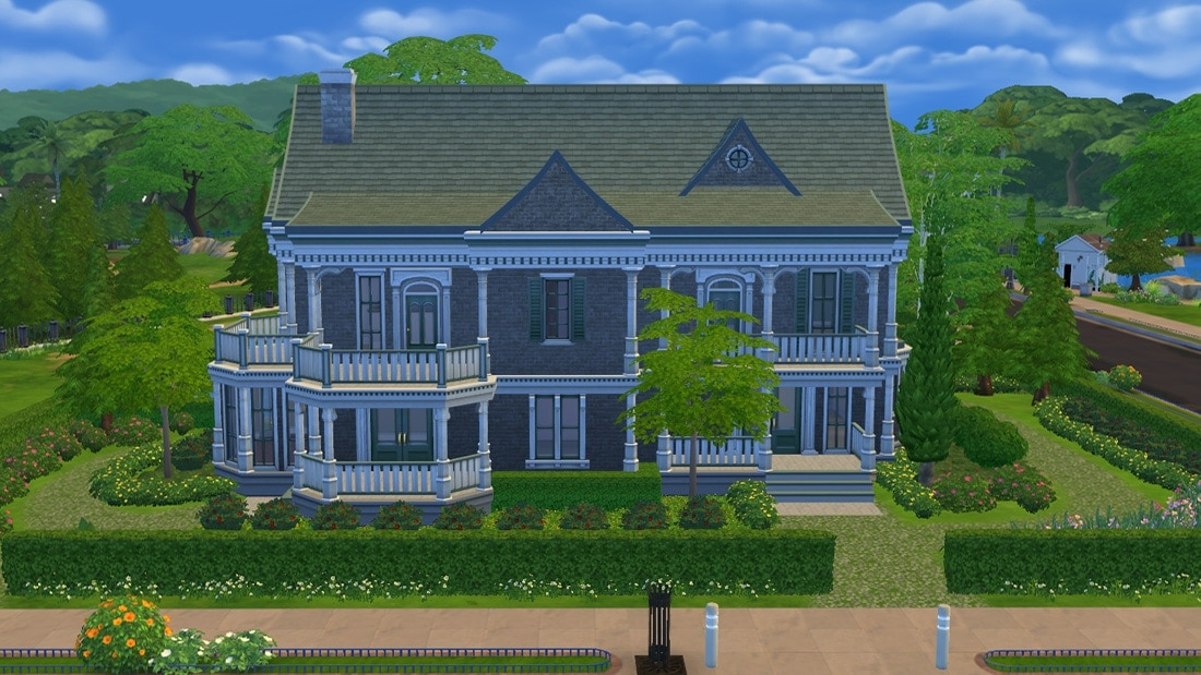 Sims 4 download huis villa victoria sims 4 - Huizen van de wereldbank ...