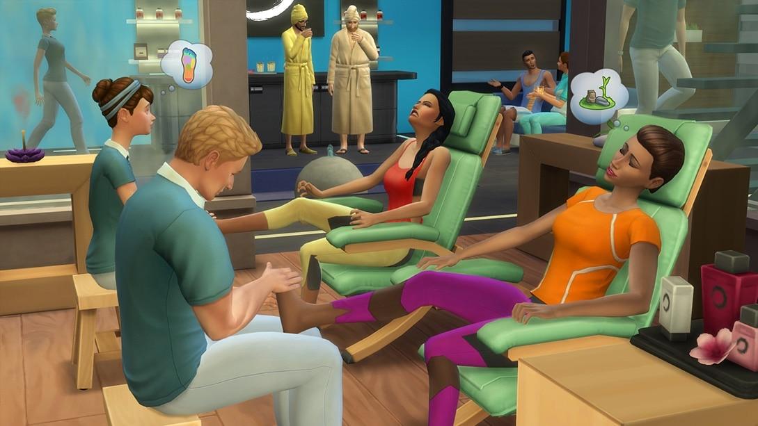De Sims 4 Wellnessdag Game Pack