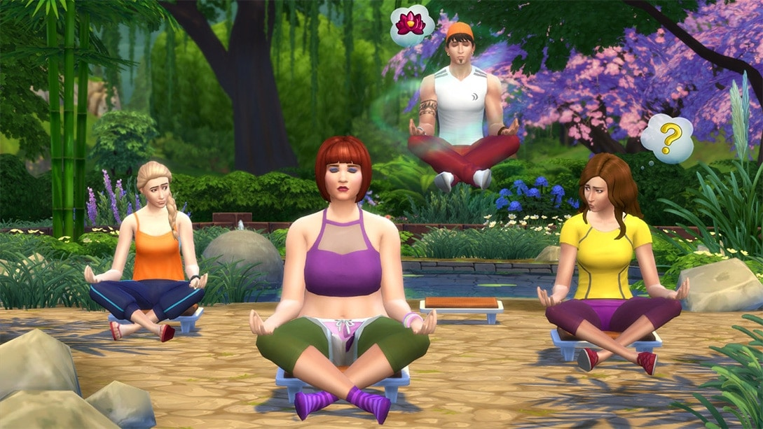 De Sims 4 Wellnessdag Game Pack