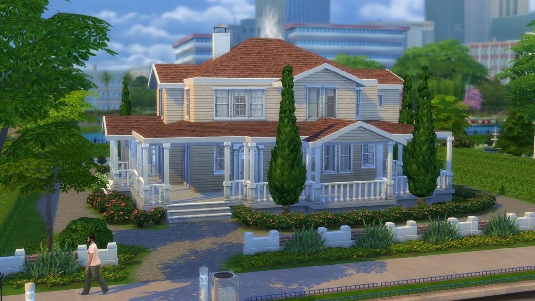 Sims 4 huis - Acacia Ave 1