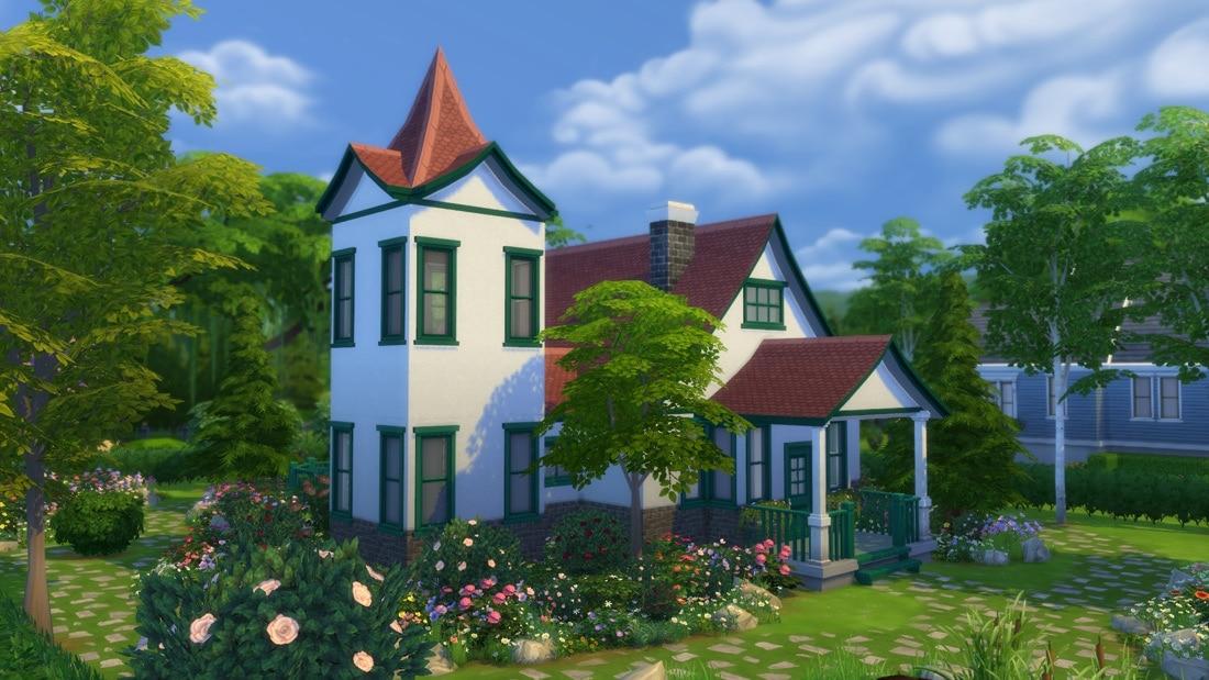 Sims 4 huis - Blossomwood Road 1