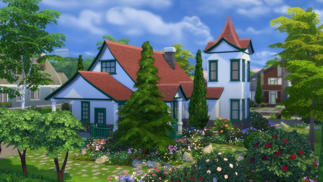 Sims 4 huis - Blossomwood Road 4