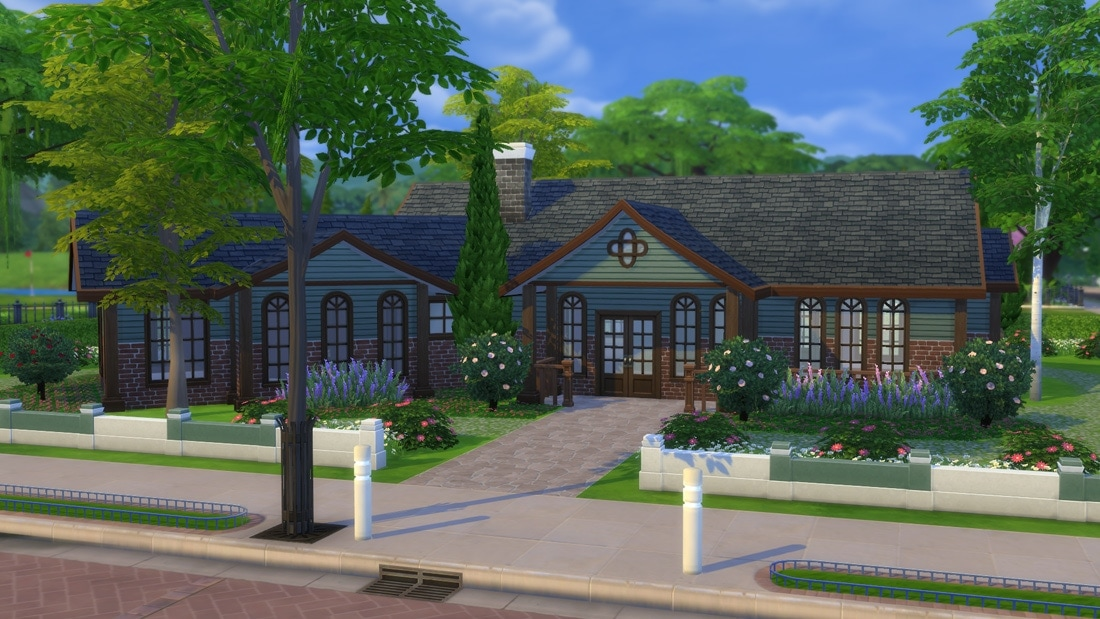 Sims 4 huis - Clairville Road 1