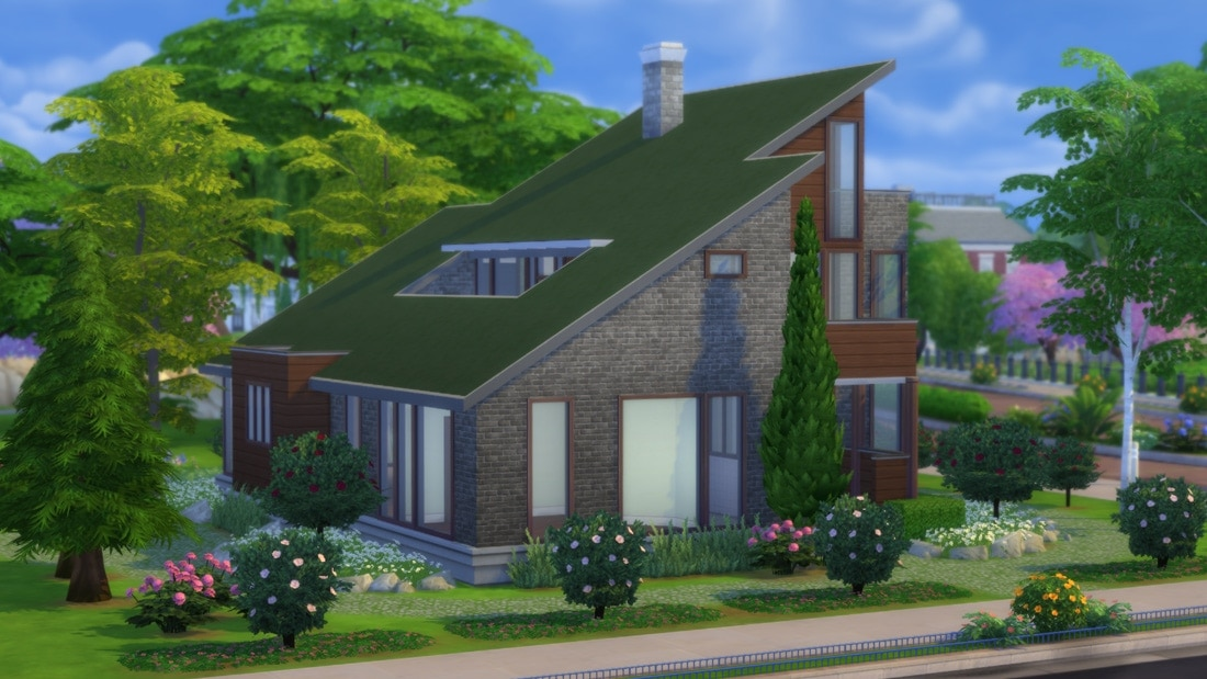 Sims 4 huis - Fern Park Ave 14