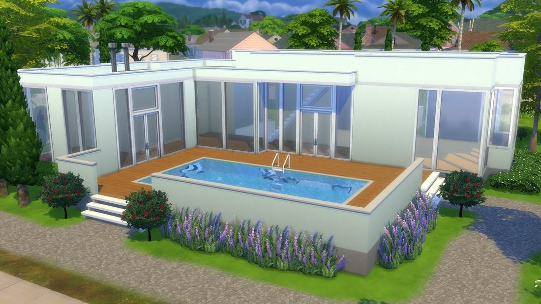Sims 4 huis - La Vendel Road 1