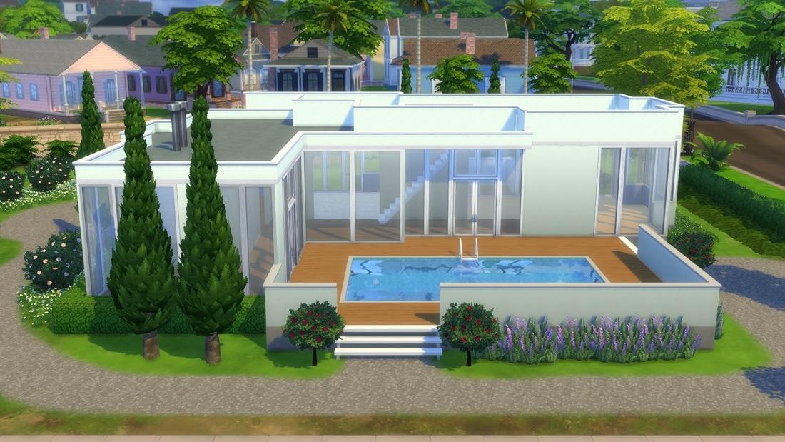Sims 4 huis - La Vendel Road 2