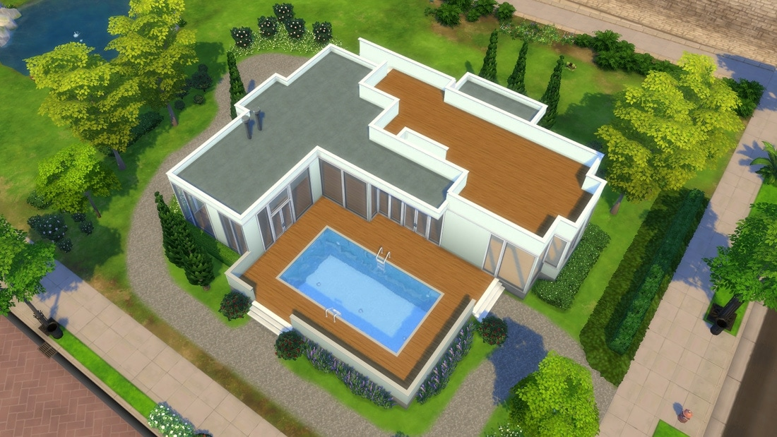 Modern house download sims 4 house design and decorating ideas - Nieuwe home design ...