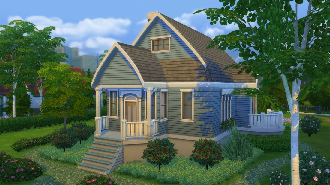 Sims 4 download huis magretelund road sims 4 for Inspiratie huizen