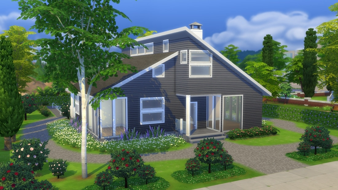 Sims 4 huis - New Harjedal 1