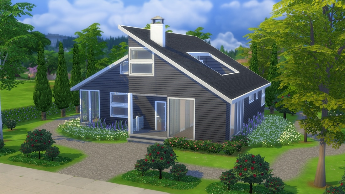 Sims 4 download huis new harjedal sims 4 for Inspiratie huizen