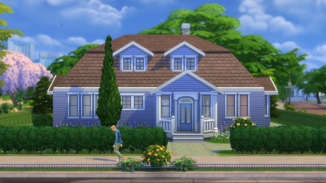 Sims 4 huis - Rosada Brook 2