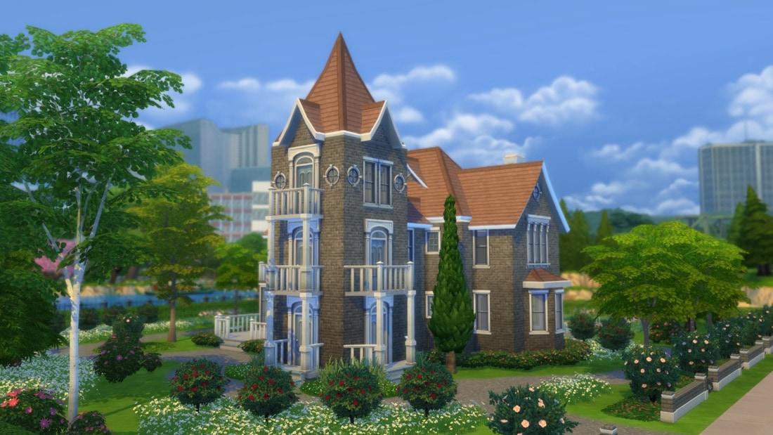 Sims 4 huis - Vinlake Ave 1