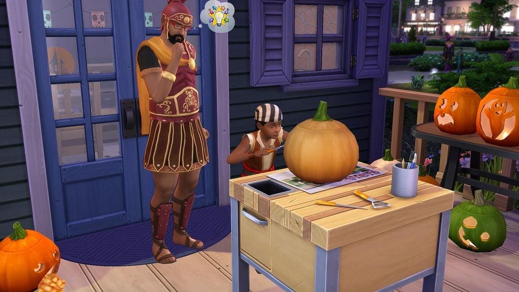 Accessoirespakket De Sims 4 Griezelige Accessoires