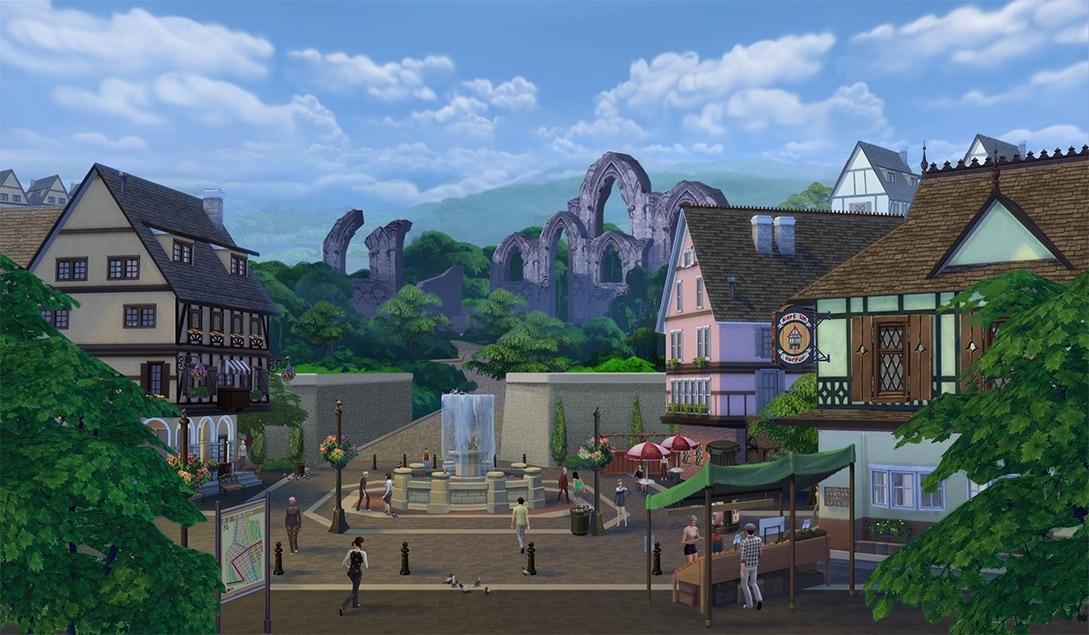 Plaatje van uitbreidingspakket De Sims 4 Beleef het Samen