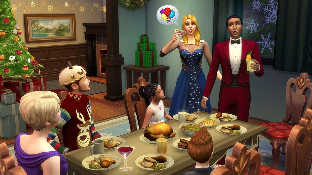 Download gratis het De Sims 4 Feestdagenpakket
