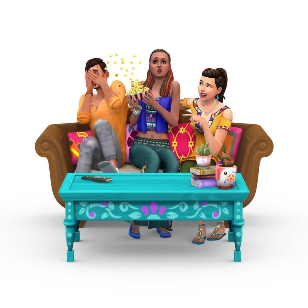 De Sims 4 Filmavond Accessoires accessoirespakket