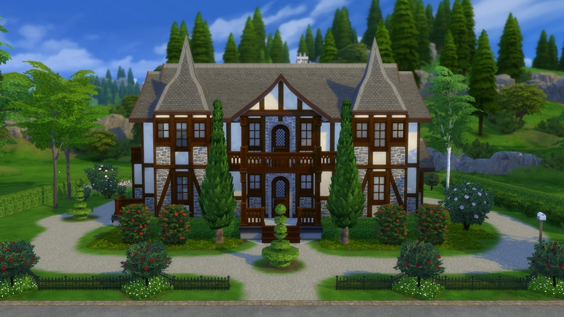 Sims 4 huis - Oakland Ave 1