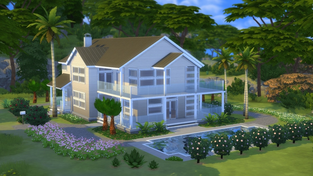 Sims 4 huis - Villa Horizonte 1