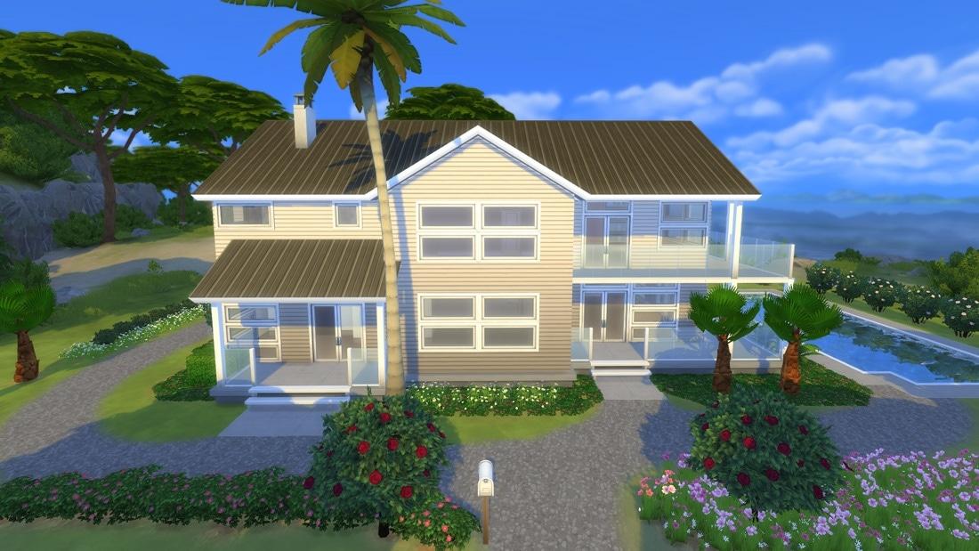 Huis sims 4 for Inspiratie huizen