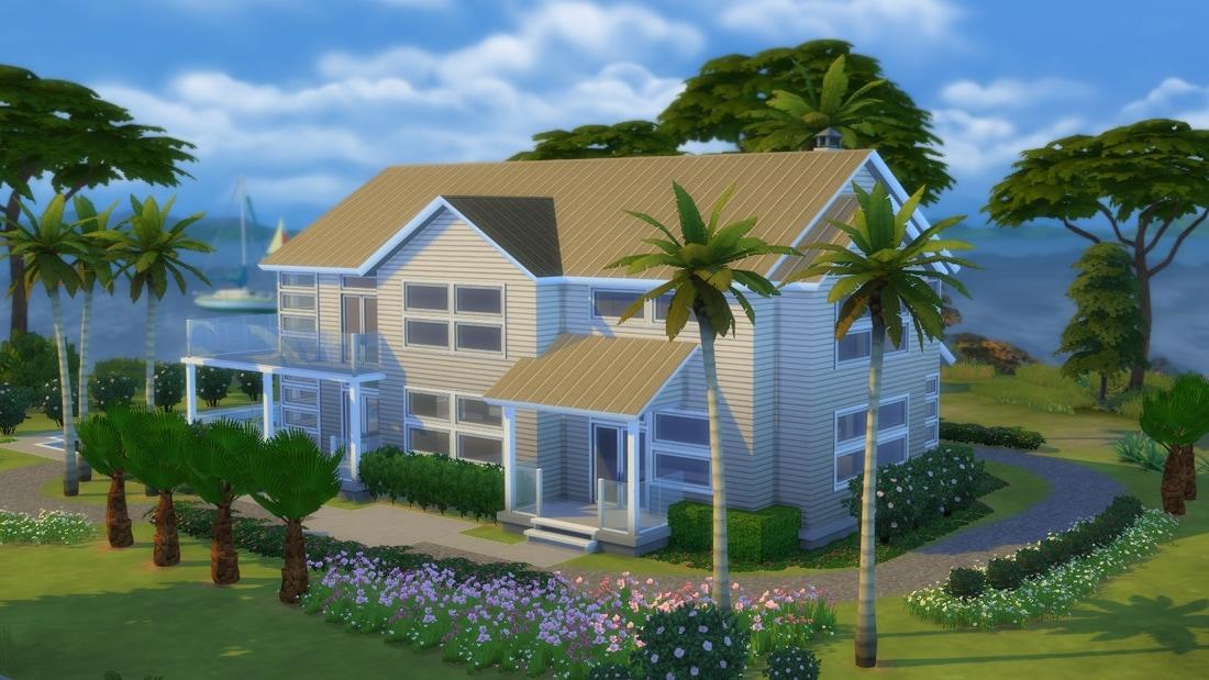 Nieuwe download villa horizonte sims 4 for Modern huis binnenhuisarchitectuur villas
