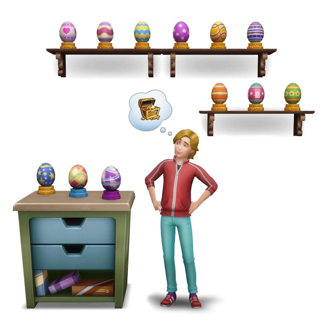Teel Groeifruit en zoek eieren