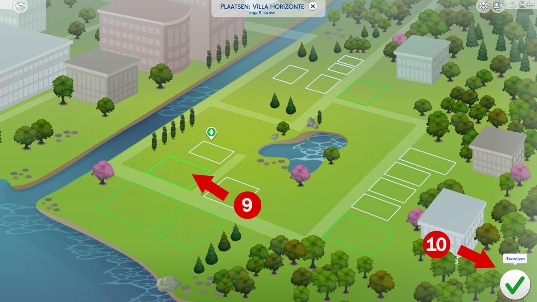 Downloaden en installeren van huizen via de Sims 4 Galerie