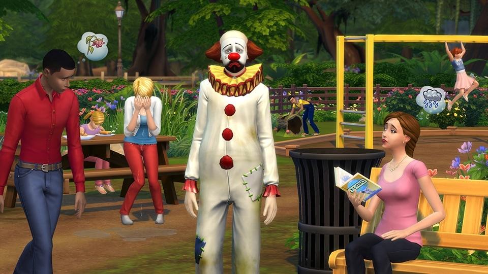 Download de Tragische Clown via de nieuwe Sims 4 update